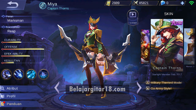 Hero marksman Mobile legends
