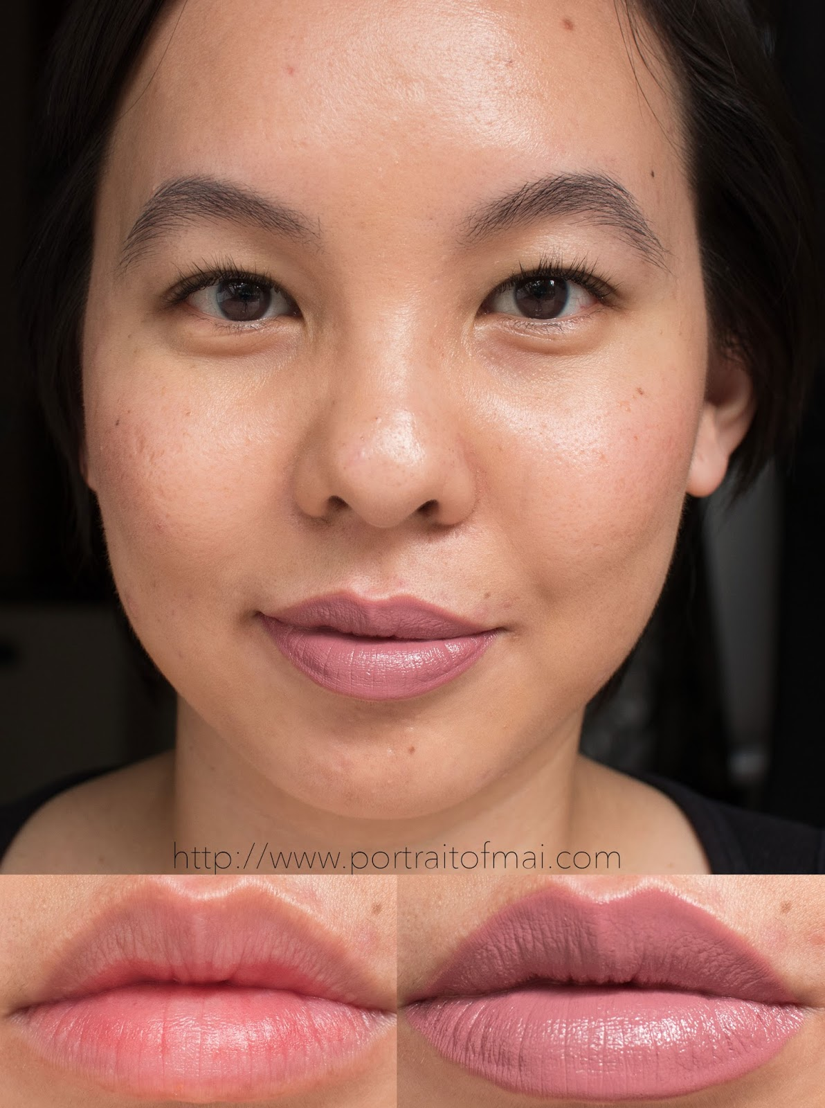 Makeup Geek Lip Products Iconic Lipstick in Shy Swatch