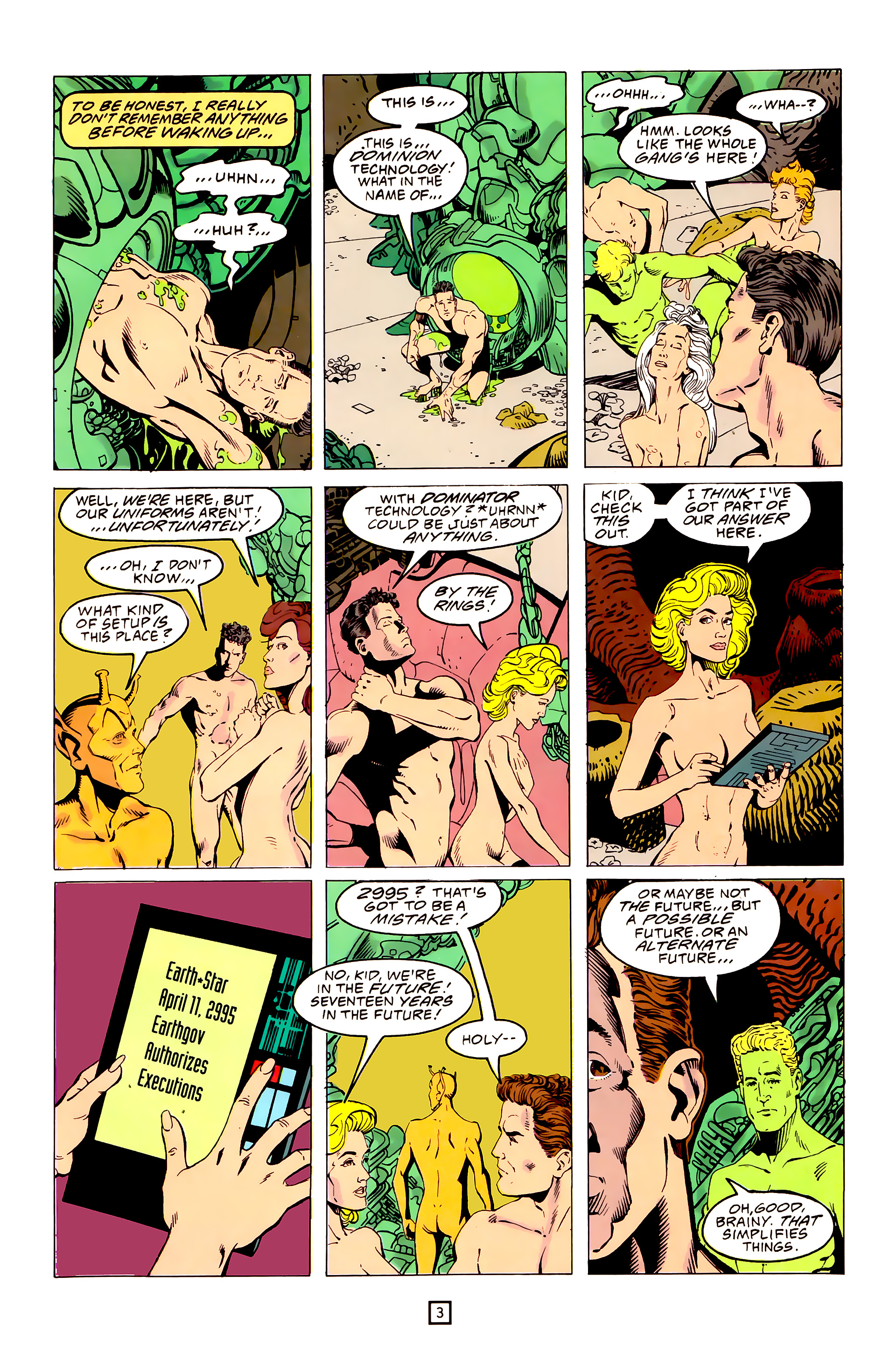 Legion of Super-Heroes (1989) 25 Page 3