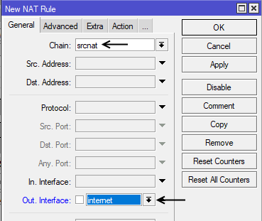NAT Firewall Rule 1