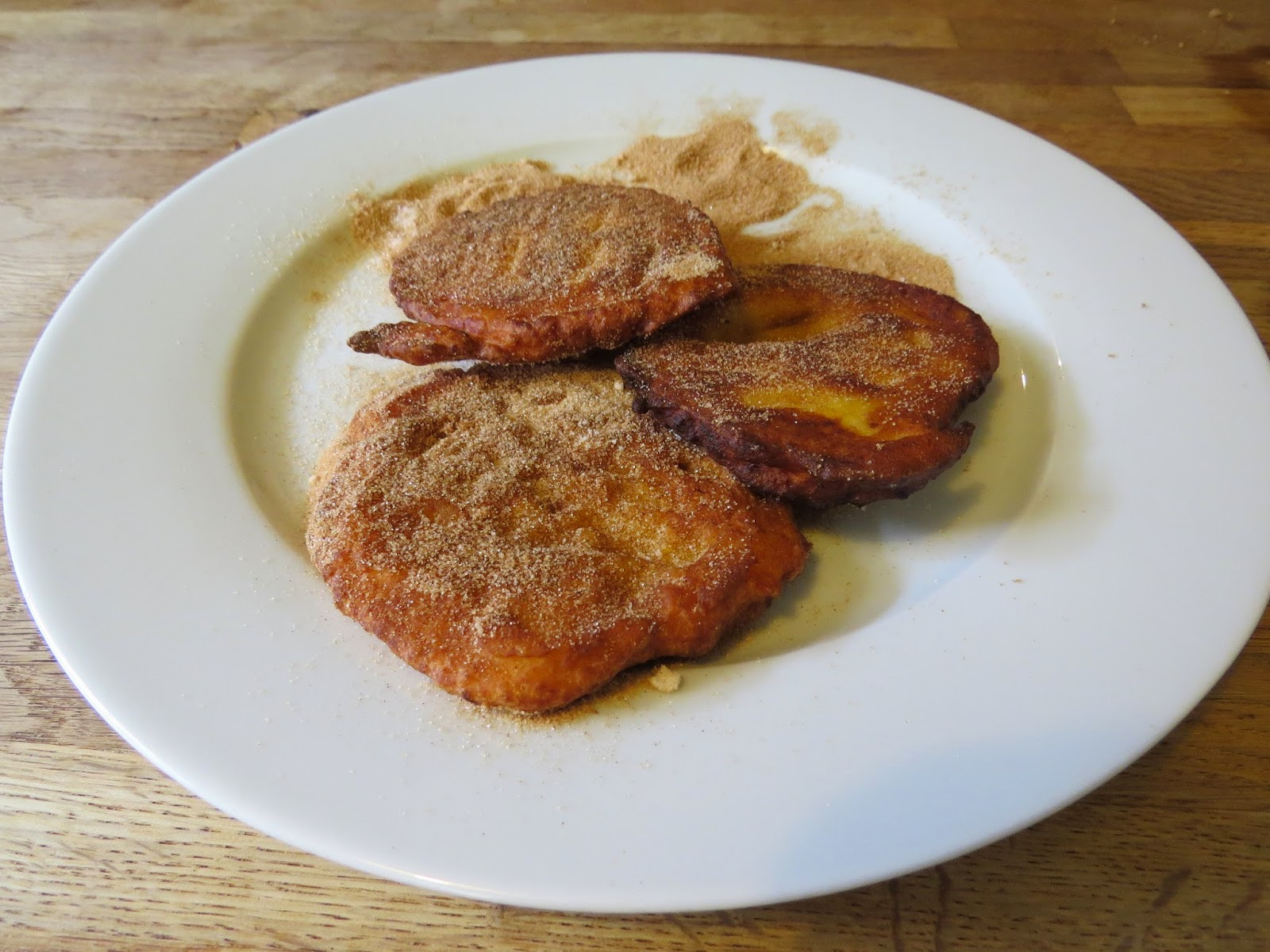 South African -Style Pumpkin Fritters