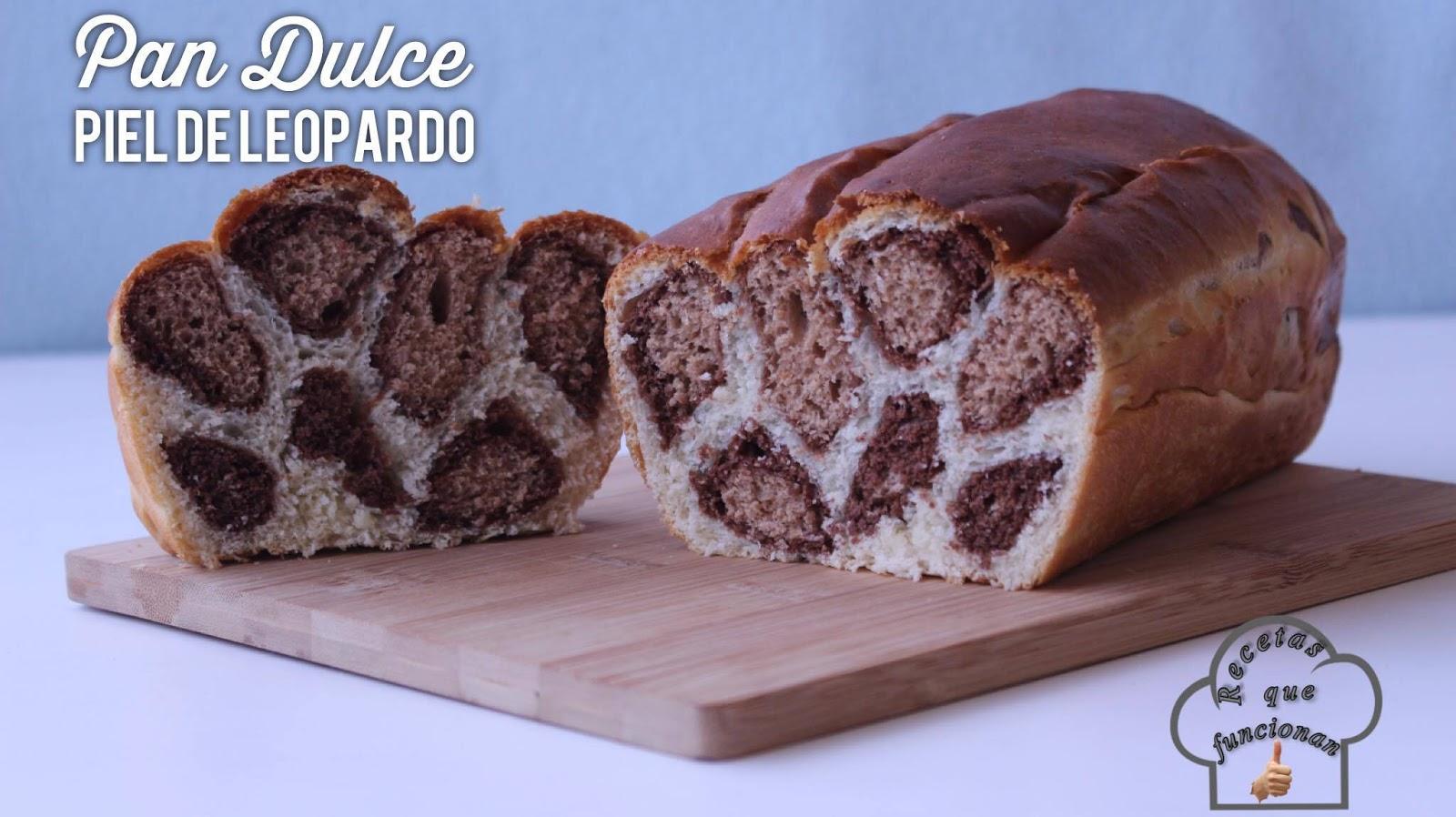 Pan piel de leopardo - Animal Print - La Cocina Del Sur