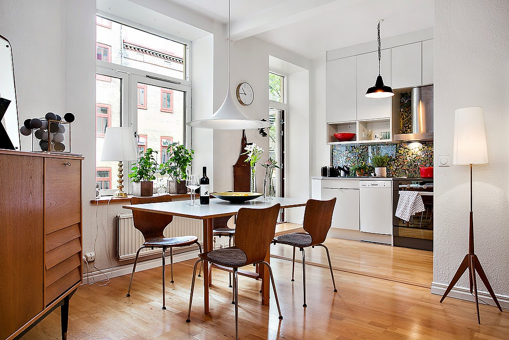 Dicas para utilizar piso de madeira na cozinha.