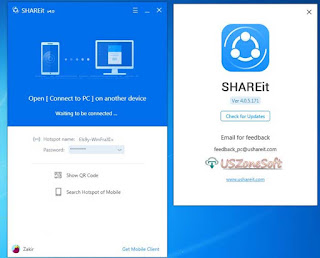 SHAREit is the best PC to mobile, mobile to mobile or PC to PC photos, music, document, pdf, video, apps and file transfer app via same LAN including WiFi or hotspot networks.