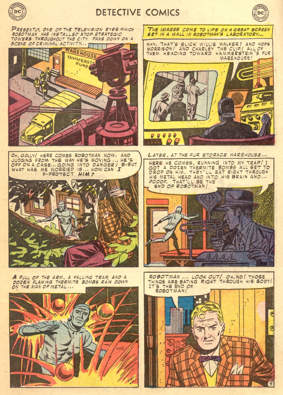 Read online Detective Comics (1937) comic -  Issue #187 - 31
