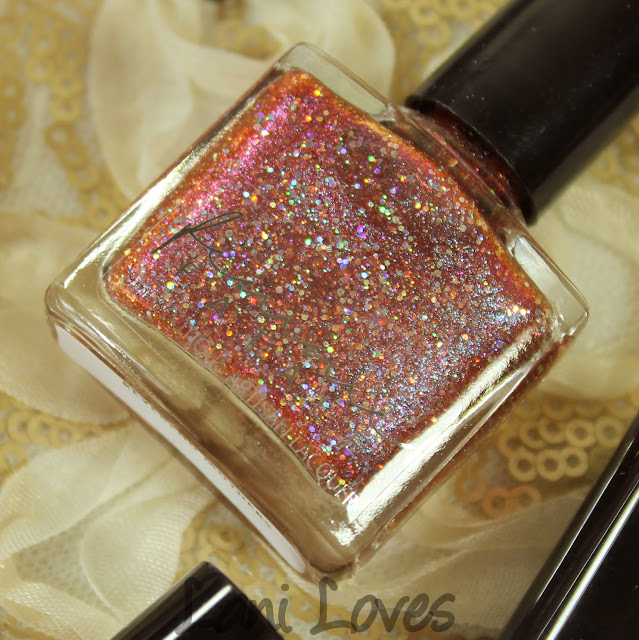 Femme Fatale Cosmetics Reverend Mothers nail polish swatches & review