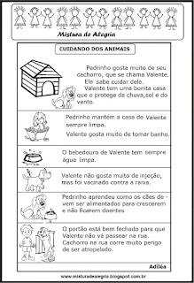 Cuidados com os animais
