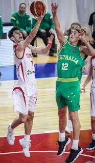 FIBA U17 World Cup Türkiye - Avustralya Mustafa Kurtuldum