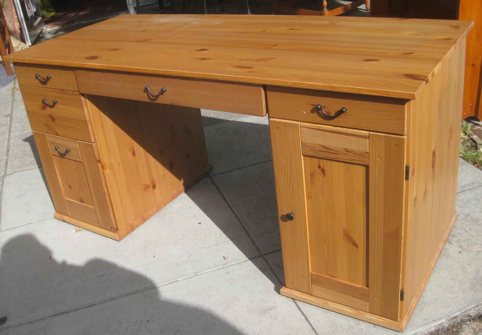 Sold Pine Ikea Desk 55