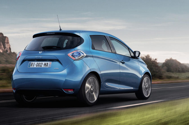 Upgraded Renault Zoe gets 250-mile variety