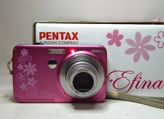 harga Jual Pentax Efina Pink - Kamera Digital