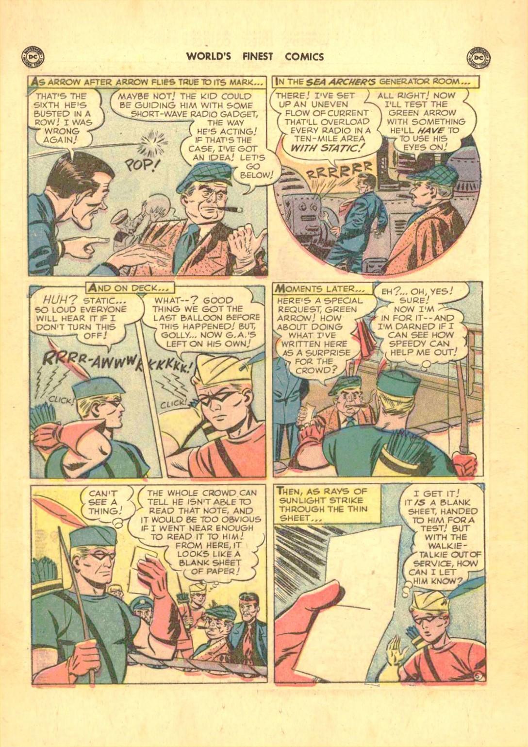 Read online World's Finest Comics comic -  Issue #50 - 22