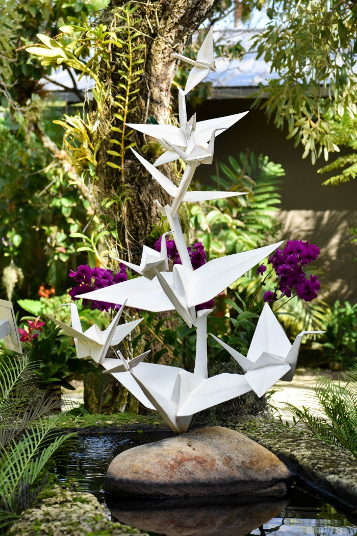 origami installations naples florida