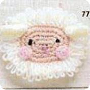 Ovejita a Crochet
