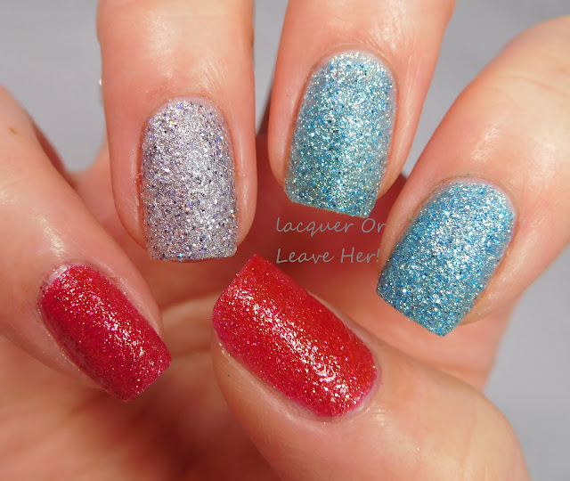 Zoya Seashells skittle with Zoya Linds, Zoya Tilly, and Zoya Bay