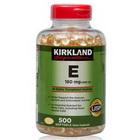 Viên uống bổ sung Vitamin E Kirkland 400IU đẹp da loại 500 viên của Mỹ