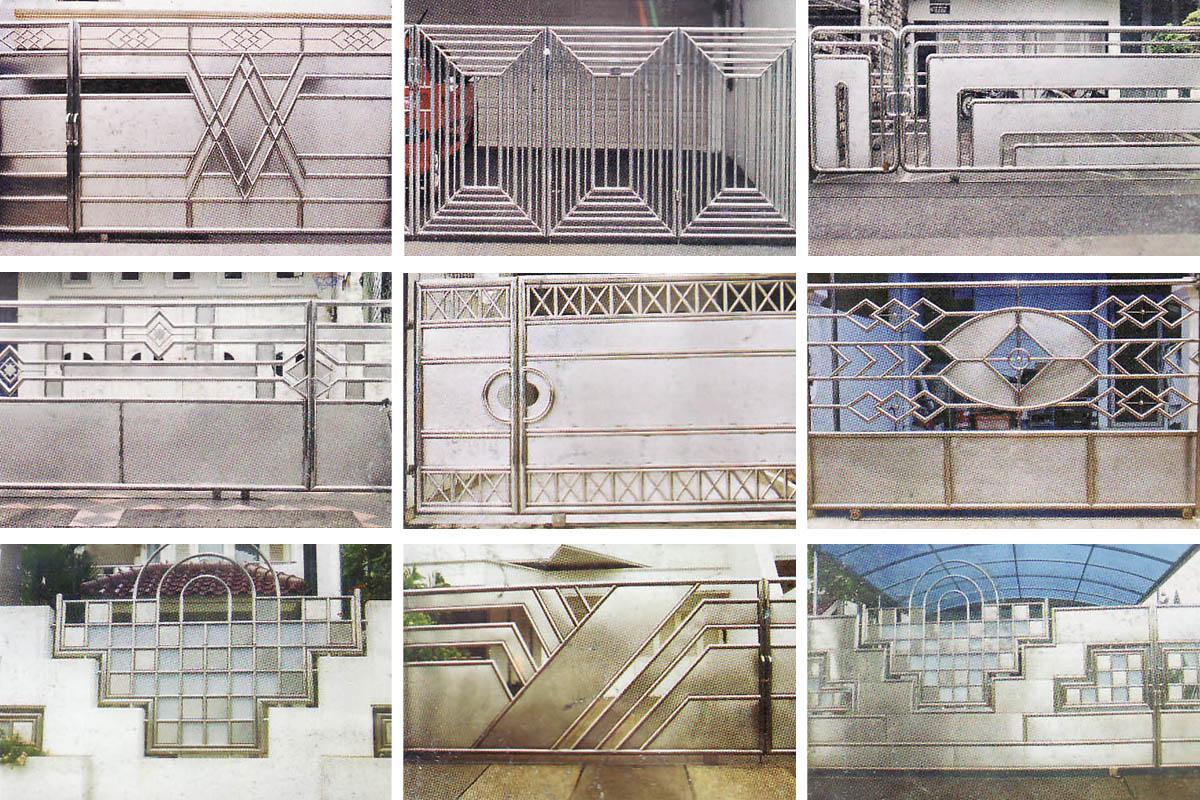 Pagar Rumah Minimalis Type 45 Gambar desain pagar besi ...