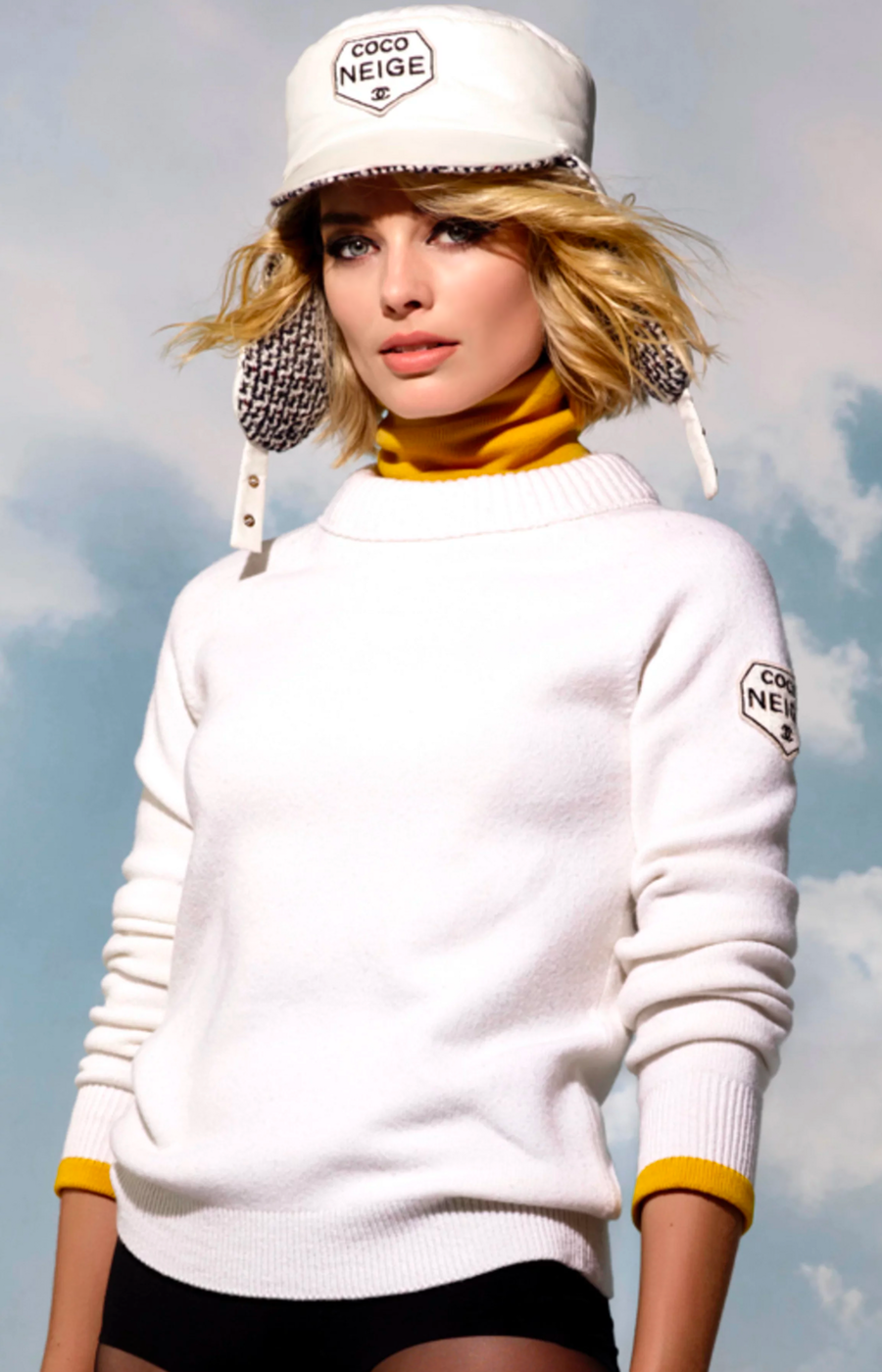 CHANEL COCO NEIGE COLLECTION FEATURING MARGOT ROBBIE