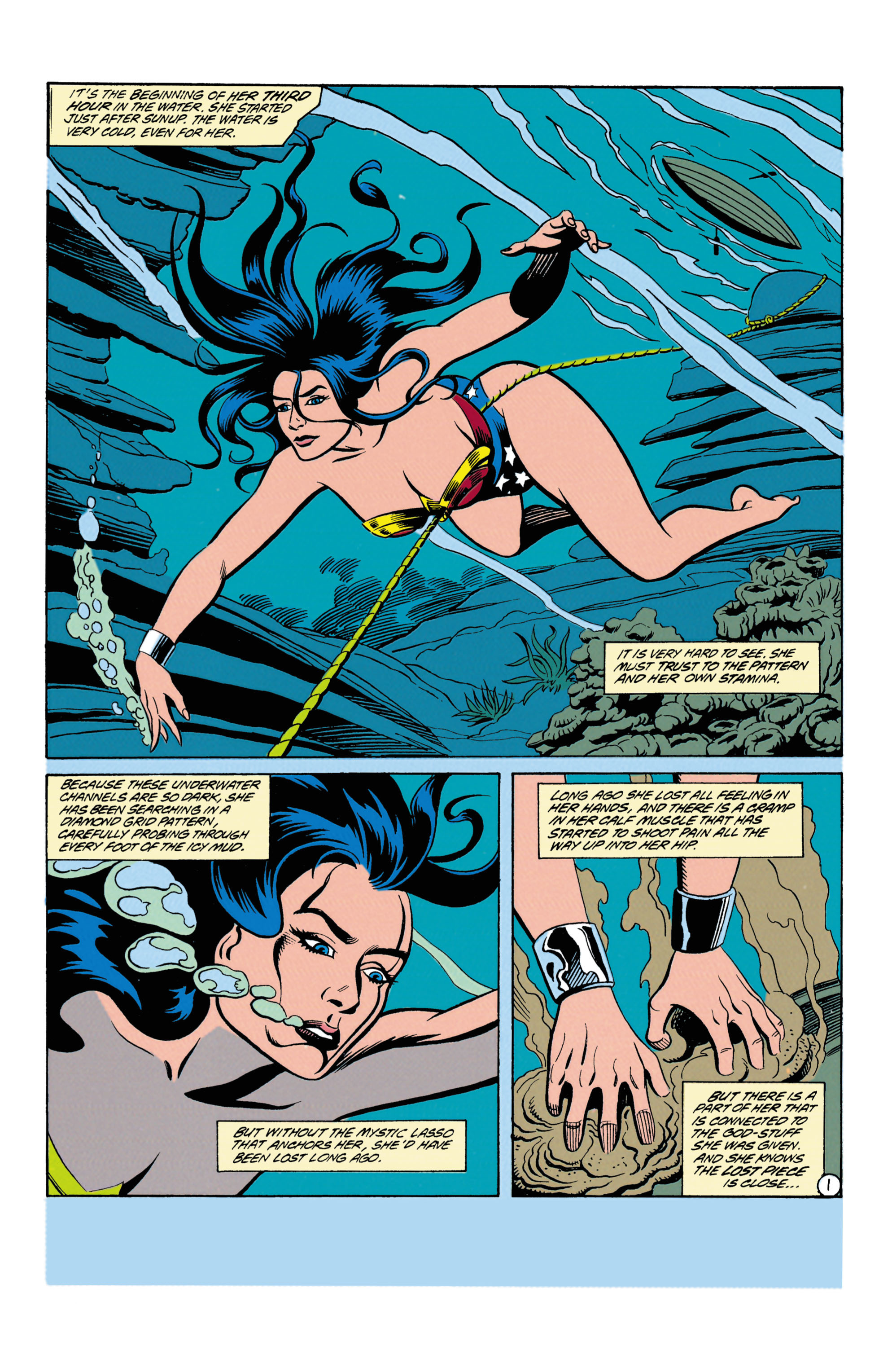 Read online Wonder Woman (1987) comic -  Issue #87 - 2