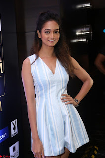 Shanvi Looks super cute in Small Mini Dress at IIFA Utsavam Awards press meet 27th March 2017 102.JPG