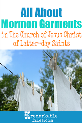 Mormon symbols of religious devotion include temple garments. They're worn under our clothes, and though the idea of Mormon undergarments may sound weird, I don't see them differently than other religious clothing, like a priest's collar. Here are 3 reasons why I love the idea of temple garments in the Church of Jesus Christ of Latter-day Saints, even if others don't get it. #mormon #lds #latterdaysaint #mormonundergarments #mormonunderwear #religiousgarments #templegarments #religiousclothing #symbols #unremarkablefiles