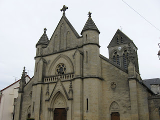 St-Martin church in Charly-sur-Marne in Aisne France