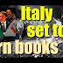 "Italy calls for Internet ""book burning"""