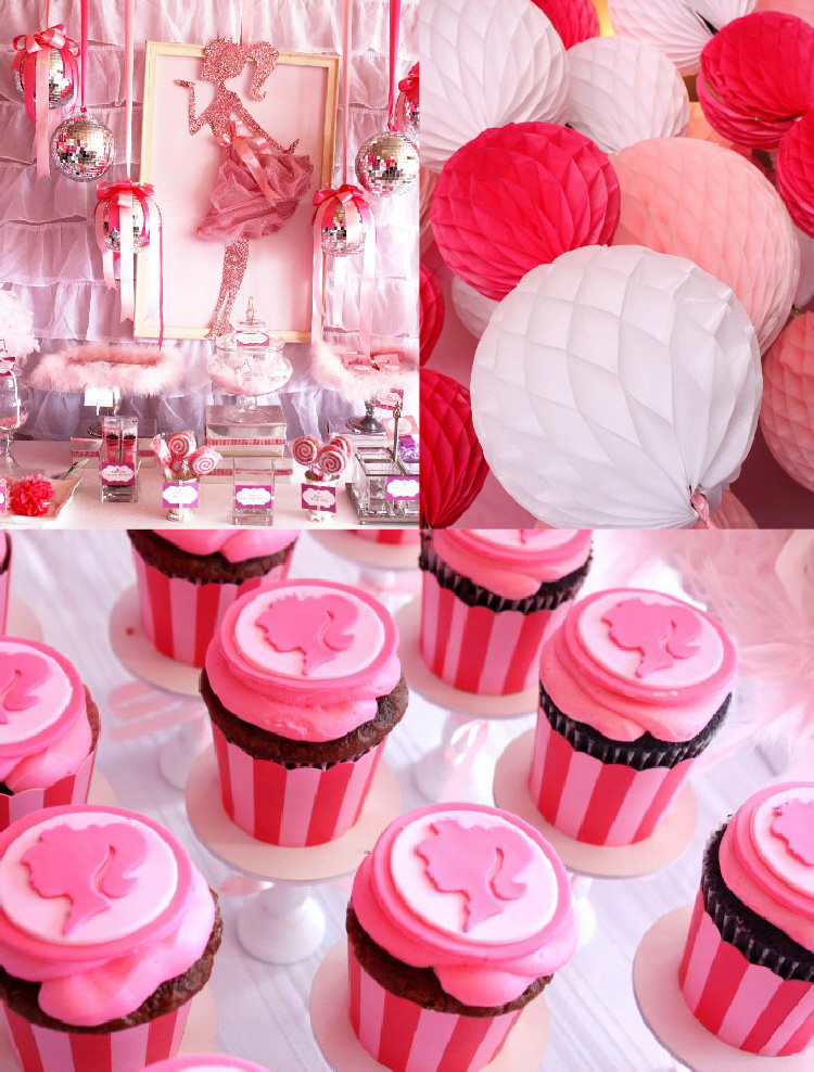 Pink 7th Birthday Enchanted Prom Party  Party Ideas  Party ...