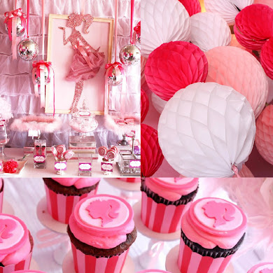 A Pink 7th Birthday Enchanted Prom Party