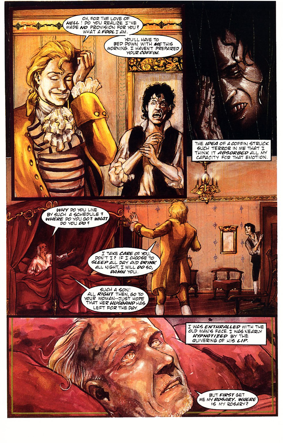 Read online Anne Rice's Interview with the Vampire comic -  Issue #1 - 23