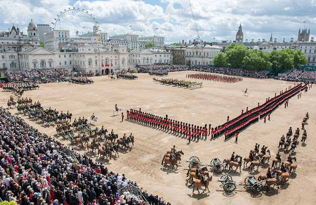 Trooping The Colour 2018 - LIVE BLOG
