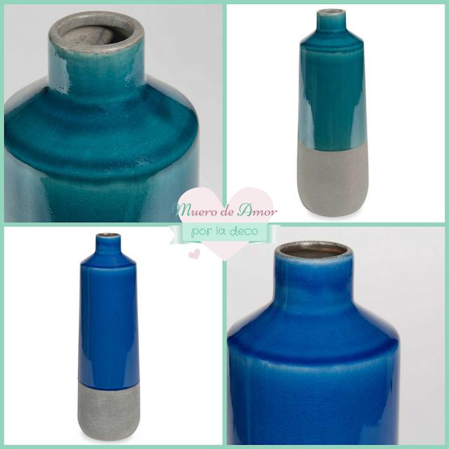 Jarrones Azules para Decorar tu Casa-Maisons Du Monde-By Ana Oval