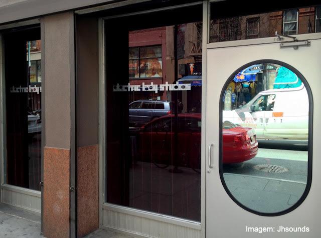 "Eletric Lady Studios, Nova York, onde John Lennon e David Bowie gravaram ""Fame"""