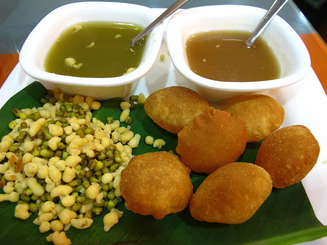 Ideas about Serving Tray Decor (Golgappa )