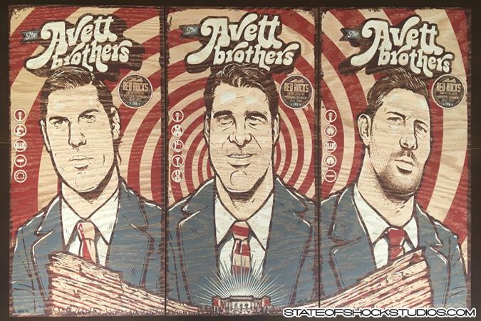 Inside The Rock Poster Frame Blog Darin Shock Avett
