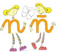 Resultado de imagen de las gemelas n y ñ
