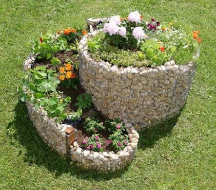 Muebles y decoraci n de interiores jardin piedras como for Decoracion de jardines pequenos con flores