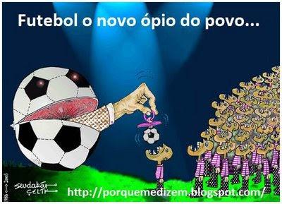 Resultado de imagem para futebol e o ópio
