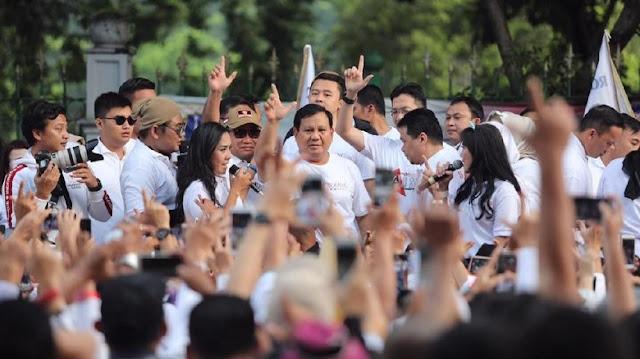 BPN Yakin Elektabilitas Prabowo Salip Jokowi Bulan Ini