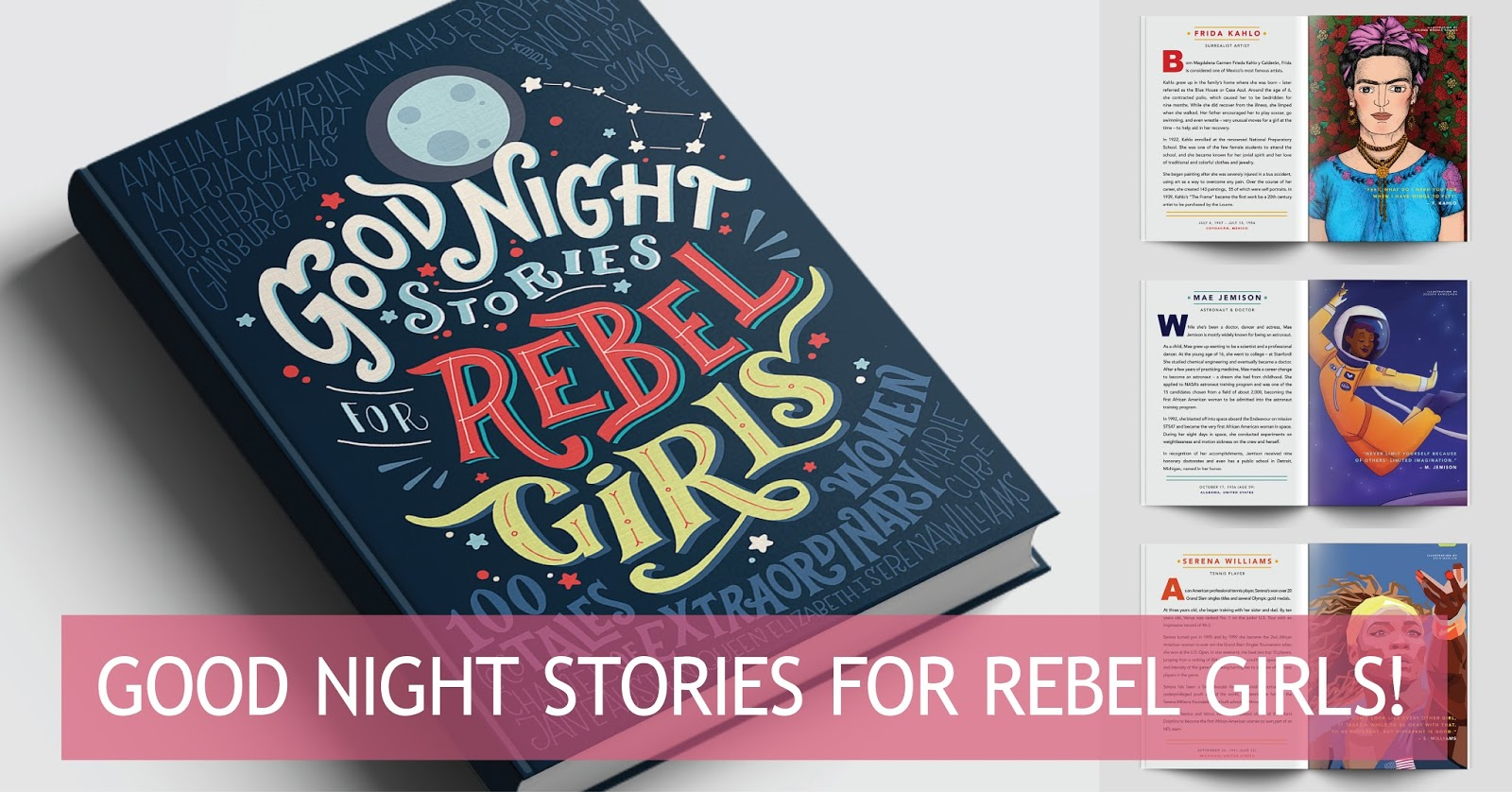 Kickstart This! Good Night Stories for Rebel Girls ~ Self