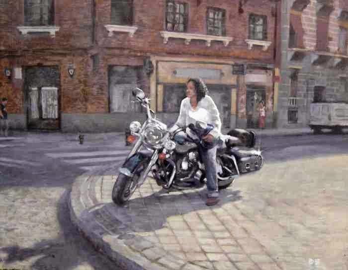 Реалистичная и фигуративная живопись. Daniel Alejandro Rojas Espinoza