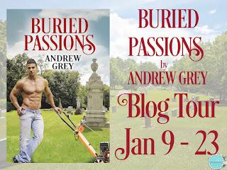 Blog Tour: Guestpost, Excerpt & Giveaway: Andrew Grey -Buried Passions