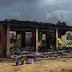 Omg! Fire incident at a boys hostel in Lagos state Model College, Epe ...photo
