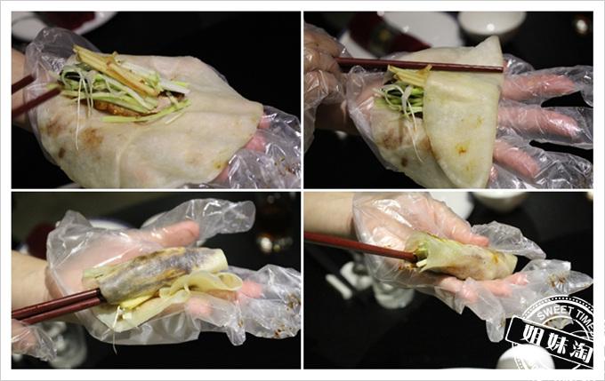 便宜坊烤鴨捲皮的技巧