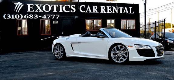 Audi R8 Spyder Car Rental