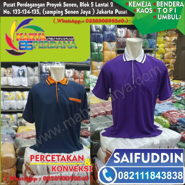 kaos list orange nasdem