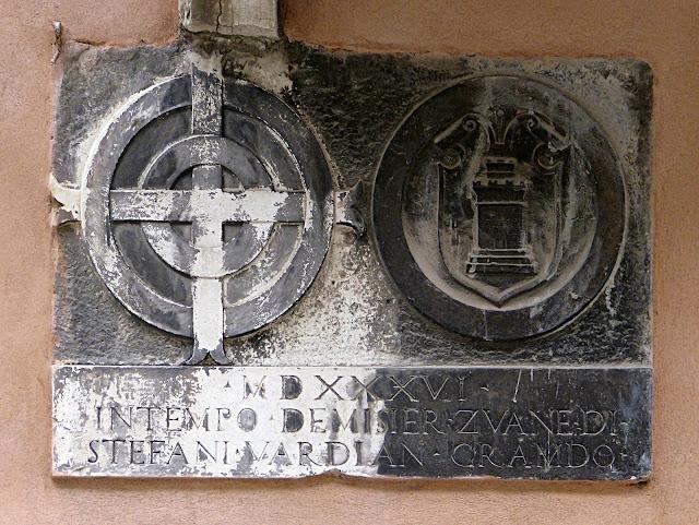 Emblem der Confraternita della Scuola Grande della Carità