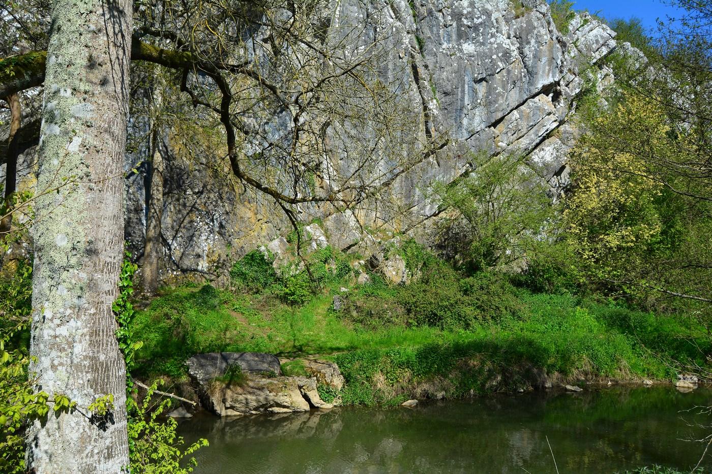 roche calcaire de Saulges