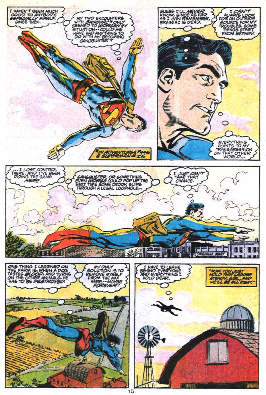 Read online Adventures of Superman (1987) comic -  Issue #450 - 16