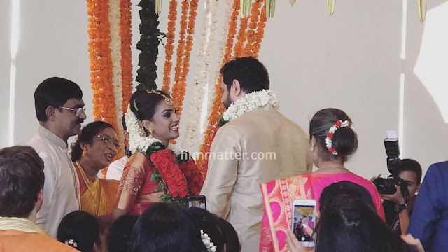 Kismath Actress Shruthy Menon Wedding video Marriage - Ugram Ujwalam Anchor Shruthy Menon Wedding video Marriage